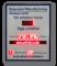 LED-Arbeitssicherheitsanzeige DFY100-4-DFY60-12-WL5-120-7-SO-R-UFT