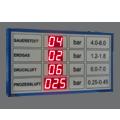 """LED-Display """"Druckwerte"""" DFYI100-9-TRI"""