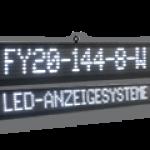LED-Laufschrift FY20-144-8-2W