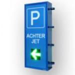 """LED-Display """"Parkplatzanzeige"""" FY10-16-16-RG-ZS-Pfeil / beidseitig"""