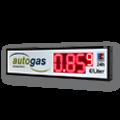 LED-Autogaspreisanzeige WE-FPS-225-140-R-ZS / beidseitig