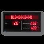 LED-Display DFYI56-9-TEMP-WL3-160-16-I-R