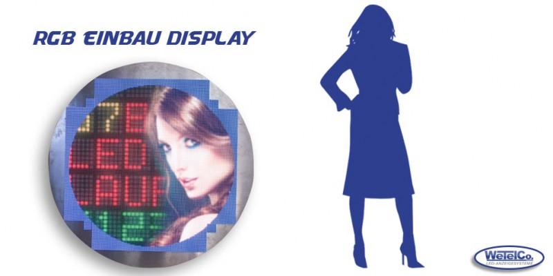 LED-Videowall Rund
