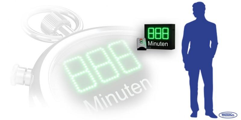 LED-Countdown DFY100-3-G-CTDN