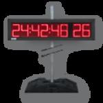 LED-Countdown mit Rekordzähler DFY100-8-R-CTDN-Zähler