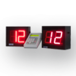 Einseitiges LED-Aufrufsystem mit 2 Anzeigedisplays – LED-Display DFY100-2-R LED-Display DFYI100-2-R