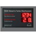 LED-Arbeitssicherheitsanzeige DFY100-4-2-R-UFT-DATUM