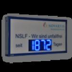 LED-Arbeitssicherheitsanzeige DFY140-4-B-UFT -IX