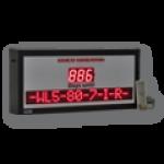 LED-Countdown mit Informationsanzeige DFYI56-3-CTDN-WL5-80-7-I-R