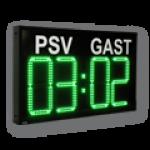 Heim-Gast 4 stellige Sportanzeige – DFYS440-4-G