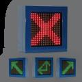LED-Zonen- und Richtungsanzeige ZA1610 / einseitig