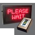 Einseitiges LED-Aufrufsystem – FYI4S-64-32-RGB-TOUCH32