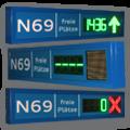 Parkleitsystem – RP100-3-G-ZA1610