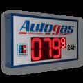 Autogaspreisanzeige WE-FPS-280-140-R-ZS
