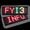 LED-Display FYI3-64-16-TRI-OG