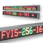 Mehrzeiliges & mehrfarbiges LED Display – FYI5-256-16-TRI