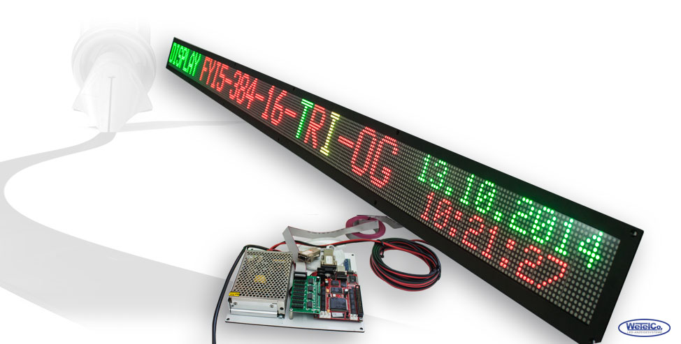 LED-Display FYI5-384-16-TRI-OG