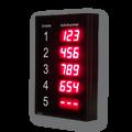 LED-Display 'Aufrufsystem' – DFYI56-3-5-R-ETH