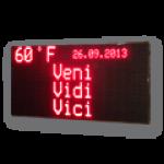 Ein & Zweiseitige LED-Grafiktafel mit roten LED – LED-Display FY20-160-64-R-ZS