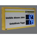 LED-Arbeitssicherheitsanzeige DFY100-4-2-B-UFT