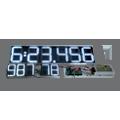 Sportanzeige DFY175-6-100-5-W-OG – Einbaulösung