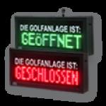 Golfclub Geöffnet/Geschlossen – FY12-48-8-RG