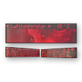 Großformatige Grafiktafel – FY12,5-336-64-2R