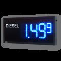 LED-Tankpreisanzeige – WE-FPS-175-100-B