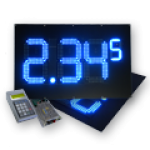 Zweiseitige LED-Tankpreisanzeige – WE-FPS-280-140-W-ZS-OG