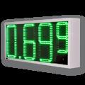 LED-Autogaspreisanzeige mit 440mm LED – WE-FPS-440-320-G-ZS