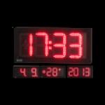LED-Uhr für den Innen- und Außenbereich, einseitig – WECL175-R-ES