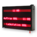 Tourenanzeige / Verladeinformation – LED-Display WL3-120-3×7-R