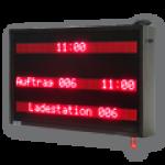 Tourenanzeige / Verladeinformation – LED-Display WL3-120-3×7-R