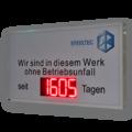 LED-Arbeitssicherheitanzeige DFY175-4-R-UFT