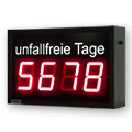 LED-Arbeitssicherheitsdisplay DFYI100-4-R-UFT -XVI