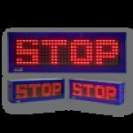 Festtextanzeige 'STOP' – FY16-32-8-RG