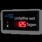 LED-Arbeitssicherheitsanzeige mit Tendenzampel DFY100-4-R-UFT-AMPEL