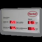 LED-Display für Arbeitssicherheit und Qualitätssicherung DFY100-8-2-R-UFT-REKORD