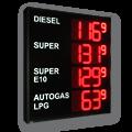 Zweiseite LED-Tankpreisanzeige – WE-FPS-280-140-4-4-R-ZS