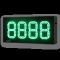 LED-Arbeitssicherheitsanzeige DFY140-4-G-UFT -XXIII