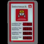 LED-Arbeitssicherheitsanzeige DFYI56-4-4-R-UFT -XXIV
