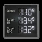 Tankpreisanzeige WE-FPS-140-60-4-3-W