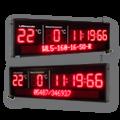 "LED-Display ""Stoppuhr"" DFY140-10-WL5-160-7-SO-R"