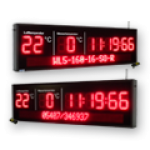 "LED-Display ""Stoppuhr"" DFY140-10-WL5-160-7-SO-R"