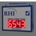 LED-Arbeitssicherheitsanzeige DFY140-4-R-UFT-ZS -XX
