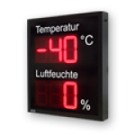 "LED-Display ""Lufttemperatur/Luftfeuchte"" DFY175-3-2-R-ANALOG"