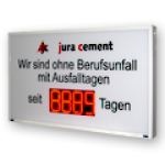LED-Arbeitssicherheitsanzeige DFY175-4-R-UFT -XXI