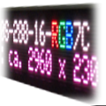 RGB LED-Laufschrift – FY10-288-16-RGB7C