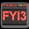 LED-Display FYI3-256-32-TRI-OG