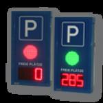 LED-Matrixanzeige 'Ampel' inkl. Restplatzanzeige ZA1610RGB-DFY100-3-R-KI4